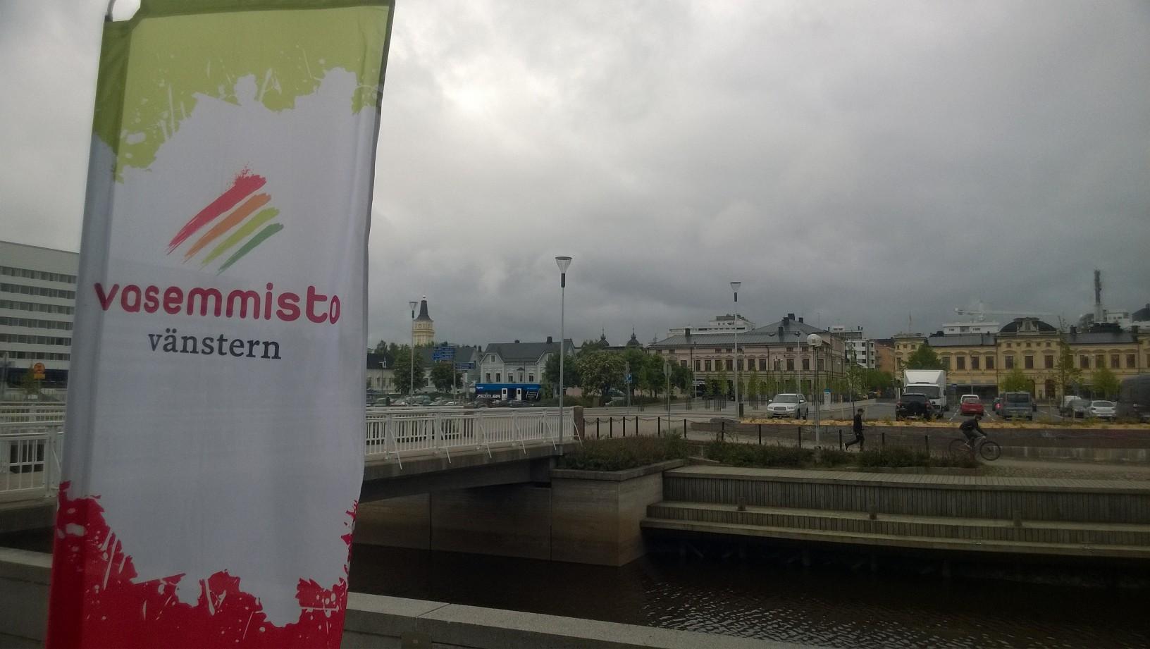 Oulussa tuulinen tervetulosää